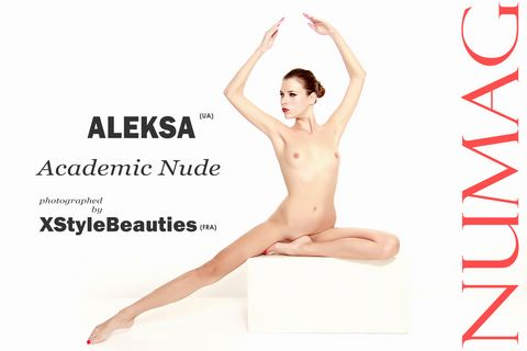 alexa in academic nude by xstylebeauties