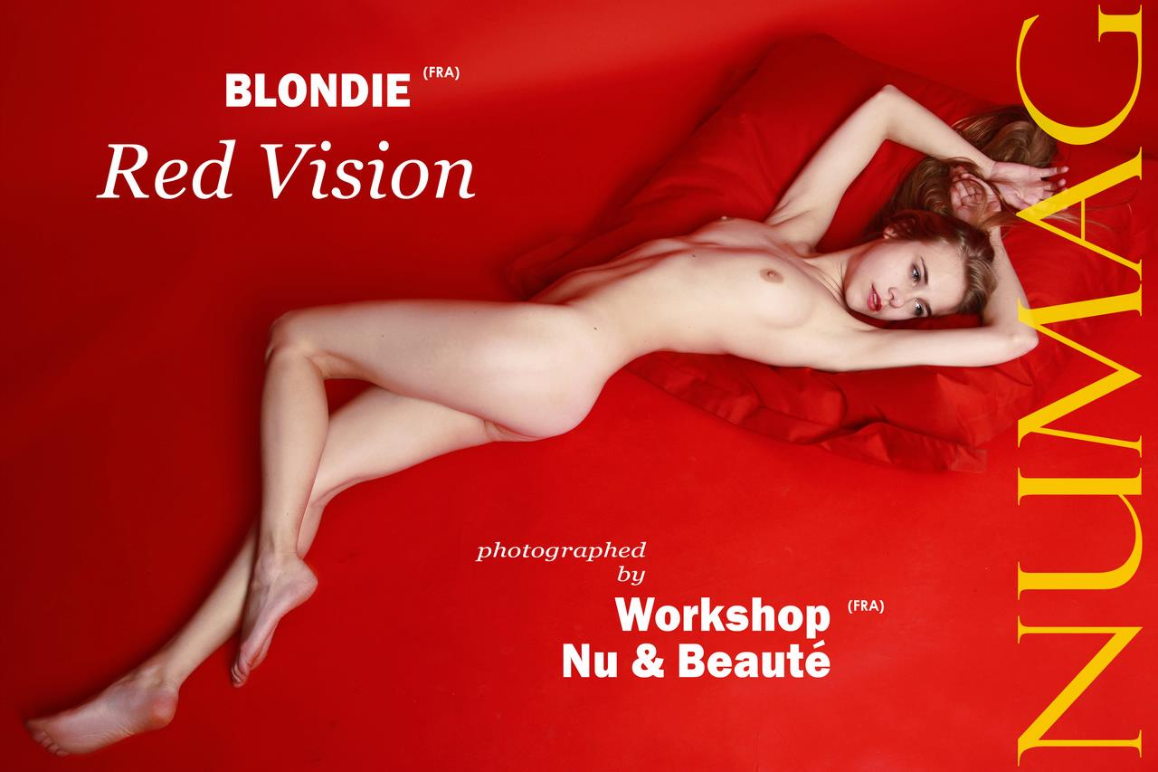 blondie in red vision by workshop nu beaute