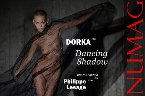 dorka in dancing shadow by philippe lesage
