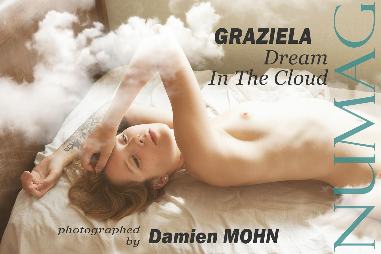 graziela in dream in the cloud by damien mohn