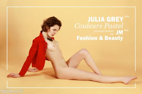 julia grey in couleurs pastels by jm fashion beauty