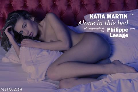 katia martin in alone in this bed by philippe lesage