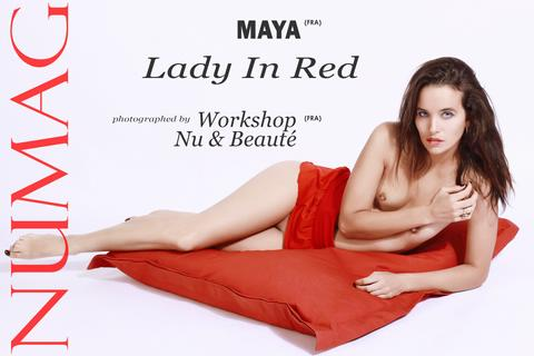 maya in lady in red by workshop nu beaute