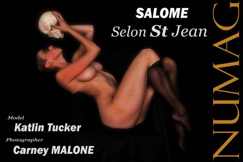 salome in selon st jean by carney malone